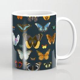 Entomology Vintage Butterfly Coffee Mug