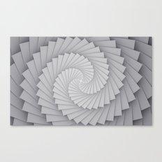 Abstract Spyral Canvas Print