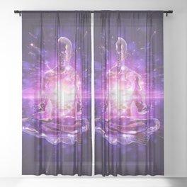 Energy Healing Sheer Curtain