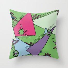Totally Rad Throw Pillow