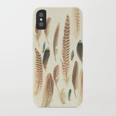 Found Feathers Slim Case iPhone X