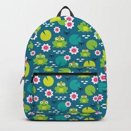 Frog & Nenuphar Backpack