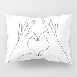 Love Heart Pillow Sham