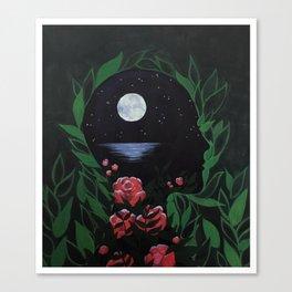 Light Pools Canvas Print
