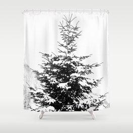 Fir Tree Shower Curtain