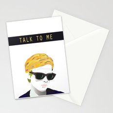 Bergman - Talk to Me Stationery Cards