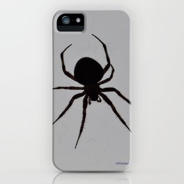 Orb Weaver Silhouette iPhone Case