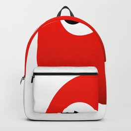 Retro red ghost Backpack