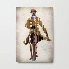 Rorschach Metal Print