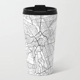 Hanover Map White Travel Mug