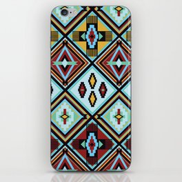 NATIVE AMERICAN PRINT iPhone Skin