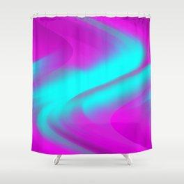 DREAM PATH (Purples, Fuchsias & Turquoises) Shower Curtain