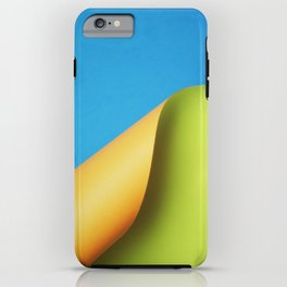 Neon Wave II iPhone Case