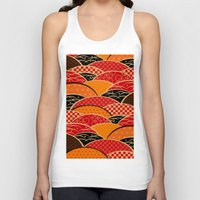 japan Tank Tops featuring JAPAN by rie_lalala