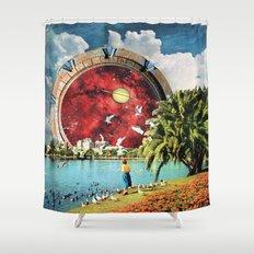 Stargate Installation Shower Curtain