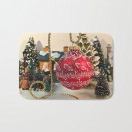 Christmas ornament 1 Bath Mat