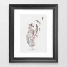 Fade-out Framed Art Print