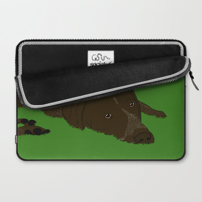 German Shorthaired Pointer Laptop Sleeve