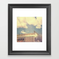 Arrow Polaroid Framed Art Print