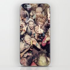 The Throng iPhone & iPod Skin