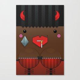 Cookie the Valentine's Spirit Canvas Print