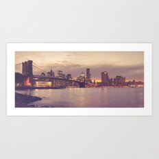 Brooklyn Bridge | New York City Art Print