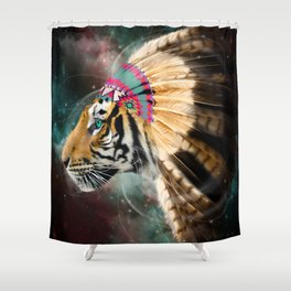 Fight For What You Love (Chief of Dreams: Tiger) Tribe Series Shower Curtain