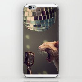 Household pet competition iPhone Skin