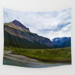 Tangle Ridge in the Columbia Icefields area of Jasper National Park, Canada Wall Tapestry