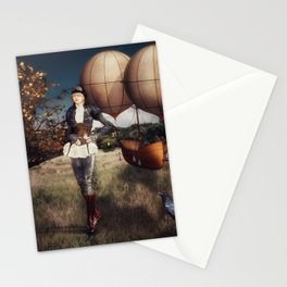 Flight of Fancy (Steampunk) Stationery Cards