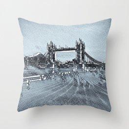 Southbank London Throw Pillow
