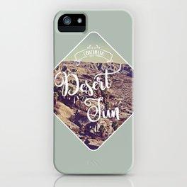 Desert Fun iPhone Case