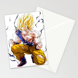 Goku Super Saiyan 2 Stationery Cards