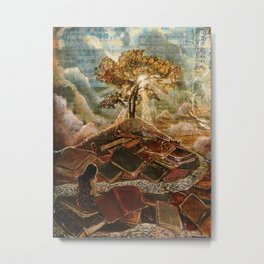 Living Word Metal Print