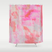 serenity Shower Curtains featuring Serenity by Georgiana Paraschiv