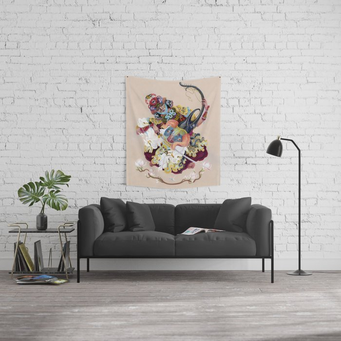 Reforge, Don't Vanquish! Wall Tapestry