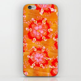 Apricot Calliope Rose iPhone Skin