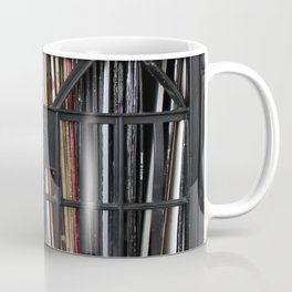 Vinyl DJ Crate Coffee Mug