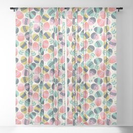Easer Eggs Sheer Curtain