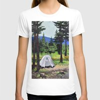 camp T-shirts featuring Camp by Kira Yustak
