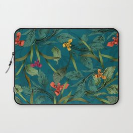 Beets and Irisses pattern Laptop Sleeve
