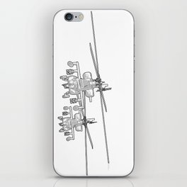 Apache's flying Toon Render iPhone Skin