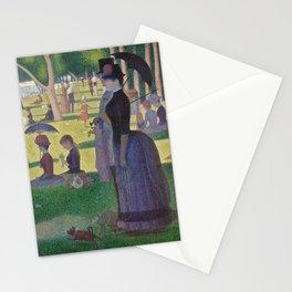 """Un dimanche après-midi à l'île de la Grande Jatte """"A Sunday on La Grande Jatte"""" Georges Seurat, 1886 Stationery Cards"""