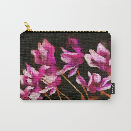 Cyclamens Carry-All Pouch