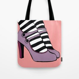 Pretty Mary Janes Tote Bag