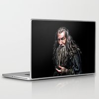 gandalf Laptop & iPad Skins featuring Gandalf  by DavinciArt