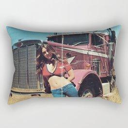 American Trucker Rectangular Pillow