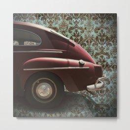 Damask Volvo Metal Print
