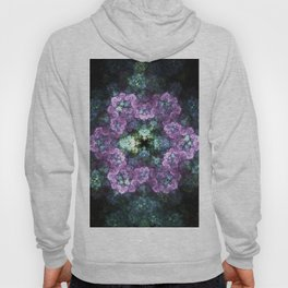 Electric Snowflake Flower Hoody