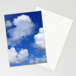 Clouds and blue sky Stationery Cards